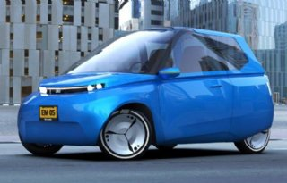 Chassis+recyclebare+auto+bestaat+uit+suiker